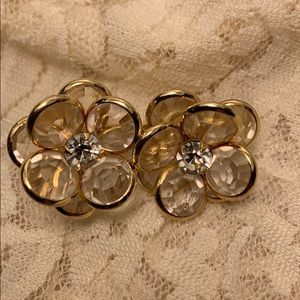 Estate Jewelry Pre Loved Clip Ons Gold Plated